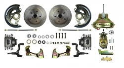 1967 - 1969 Camaro Street Anchors Front Power DISC Brake Conversion Kit