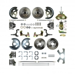1967 Camaro Street Anchors Front Power Disc Brake Conversion Kit