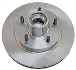 1982 - 1992 Camaro Front Disc Brake Rotor and Hub, Single Piston Caliper Design, Each