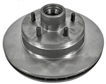 1988 - 1992 Camaro Front Disc Brake Rotor and Hub, Dual Piston Caliper Design, Each