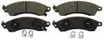 1982 - 1992 Camaro Front Disc Brake Pads Set, Four Piston with Performance Package, OE Semi-Metallic