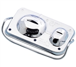1970-1981 Master Brake Cylinder Cover, Chrome