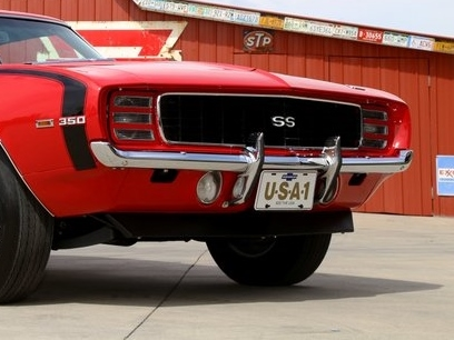1969 69 Camaro Front Bumper Guard Kit New