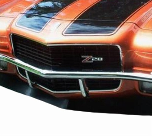 Camaro Bumper Guard : Camaro front chrome bumper guards pair