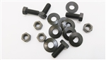 1970 - 1973 Radiator Support Bracket to Sub Frame Mounting Hardware Bolt Set, 16 Pcs