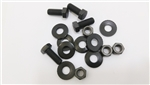 1969 Front Bumper Bracket to Sub Frame Bolts Set, 16 Pcs