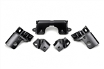 1967 - 1968 Camaro Rear Back Bumper Brackets Set, 5 Pieces