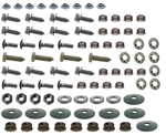1974  - 1977 Rear Bumper and Bracket Mounting Hardware Set