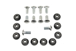1967 Bumper Bolts Set, Small Head, Correct OE Style, Includes Nuts