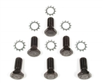 1967 - 1981 Chevy Camaro Clutch Flywheel Bolts Set with Washers, Manual Transmission