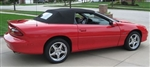 1994 - 2002 Camaro Convertible Top, Premium Cloth Style, w/o Rear Window