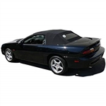 1994 - 2002 Camaro Superior Vinyl Convertible Top Rear Tinted Glass Window, Window ONLY