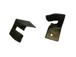 1967 - 1969 Convertible Top Rubber U-Seals, Rear Frame to Body, Pair