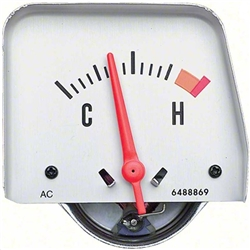 1968 - 1969 Camaro Console Temperature Gauge, 6489836