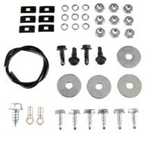 1968 - 1969 Camaro Console Gauges Hardware Set, Including Ground Wire, 44 Pieces