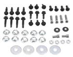 1968 - 1969 Camaro Console Housing Assembly Hardware Screw Set, Automatic or Manual Transmission, 47 Pieces, OE Style