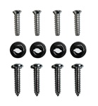 1969 Camaro Console Shift Plate Screws Set, 4-Speed 12 Pieces