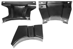 1970 - 1972 Camaro Console Housing Assembly Mounting Brackets 3 Piece Set
