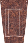 1970-1972 Automatic Console Shifter Plate Woodgrain Decal Insert