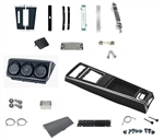 1967 Camaro Complete Console Housing Kit with Gauge Package, TH350 or TH400, Unassembled