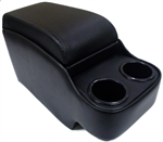 1967 - 1969 Camaro Console Assembly with Cup Holders and Secret Compartment, Choice of Color