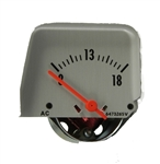 1968 - 1969 Camaro Console Gauge, VOLTMETER, For Use in Replacement of Amp meter 6473265