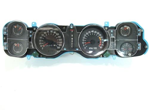 1970     1971       Camaro       Dash    Instrument Cluster Housing Assembly with Gauges  8K Redline