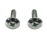 1967 - 1968 Radio Dash Mounting Screws, Pair