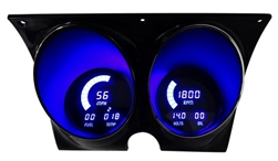 1967 - 1968 Camaro Digital LED Dash Instrument Cluster Gauges System, Speedometer, Tachometer, Oil Pressure, Water Temp, Voltmeter, Fuel