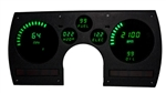 1982 - 1990 Dash Instrument Cluster Gauges System, Digital LED, Speedometer, Tachometer, Oil Pressure, Water Temp, Voltmeter, Fuel