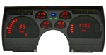 1991 - 1992 Dash Instrument Cluster Gauges System, Digital LED, Speedometer, Tachometer, Oil Pressure, Water Temp, Voltmeter, Fuel