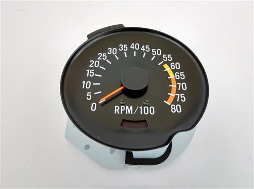 1970 - 1978 camaro dash tach, tachometer 6500 - 8000 redline, 5657056 all  ignition systems exc  msd