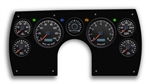 1982 - 1989 Camaro AVAITOR Dash Instrument Cluster Gauge Kit: Speedometer, Tachometer, Oil Pressure, Water Temp, Voltmeter, Fuel