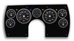 1982 - 1989 Camaro PERFORMANCE BLACK MECHANICAL SPEEDO Dash Instrument Cluster Gauge Kit: Speedometer, Tachometer, Oil Pressure, Water Temp, Voltmeter, Fuel