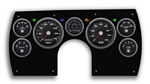 1982 - 1989 Camaro PERFORMANCE BLACK ELECTRIC SPEEDO Dash Instrument Cluster Gauge Kit: Speedometer, Tachometer, Oil Pressure, Water Temp, Voltmeter, Fuel