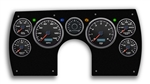 1982 - 1989 Camaro PERFORMANCE II BLACK ELECTRIC SPEEDO Dash Instrument Cluster Gauge Kit: Speedometer, Tachometer, Oil Pressure, Water Temp, Voltmeter, Fuel