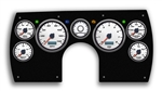 1982 - 1989 Camaro PERFORMANCE II WHITE ELECTRIC SPEEDO Dash Instrument Cluster Gauge Kit: Speedometer, Tachometer, Oil Pressure, Water Temp, Voltmeter, Fuel