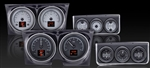 1967 Dash Instrument Cluster and Console Gauges Set, HDX : Speedometer, Tachometer, Oil Pressure, Water Temp, Voltmeter and Fuel