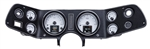 1970 - 1981 Dash Instrument Cluster Gauges Set, HDX : Speedometer, Tachometer, Oil Pressure, Water Temp, Voltmeter and Fuel
