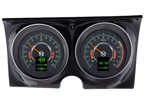 1967 Camaro Dash Instrument Cluster Gauges Set, RTX : Speedometer,  Tachometer, Oil Pressure, Water Temp, Voltmeter and Fuel