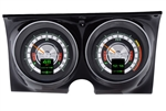 1968 Dash Instrument Cluster Gauges Set, RTX : Speedometer, Tachometer, Oil Pressure, Water Temp, Voltmeter and Fuel