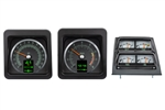 1969 Camaro RTX Dash and Console Gauge Instrument Cluster Set, Speedometer, Tachometer, Oil Pressure, Water Temp, Voltmeter, Fuel and more!