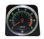 1969 Camaro Dash Tach, TACHOMETER 6000 - 7000 Redline, 6469383 ALL IGNITION SYSTEMS EXC. MSD
