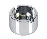 1967 - 1968 Camaro Dash Wiper Switch Nut, Chrome Plated