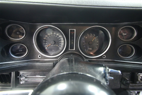 1970 - 1981 Camaro Dash Instrument Cluster Circuit Board for Models with  Warning Lights and without Factory Gauges