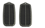 1970 - 1981 Camaro Door Jamb Air Vent Louver Assembly with Inner Liner, Pair
