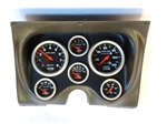 1967 - 1968 Camaro Custom Dash Instrument Cluster Housing with Auto Meter Gauges, Choice of AutoMeter Gauges