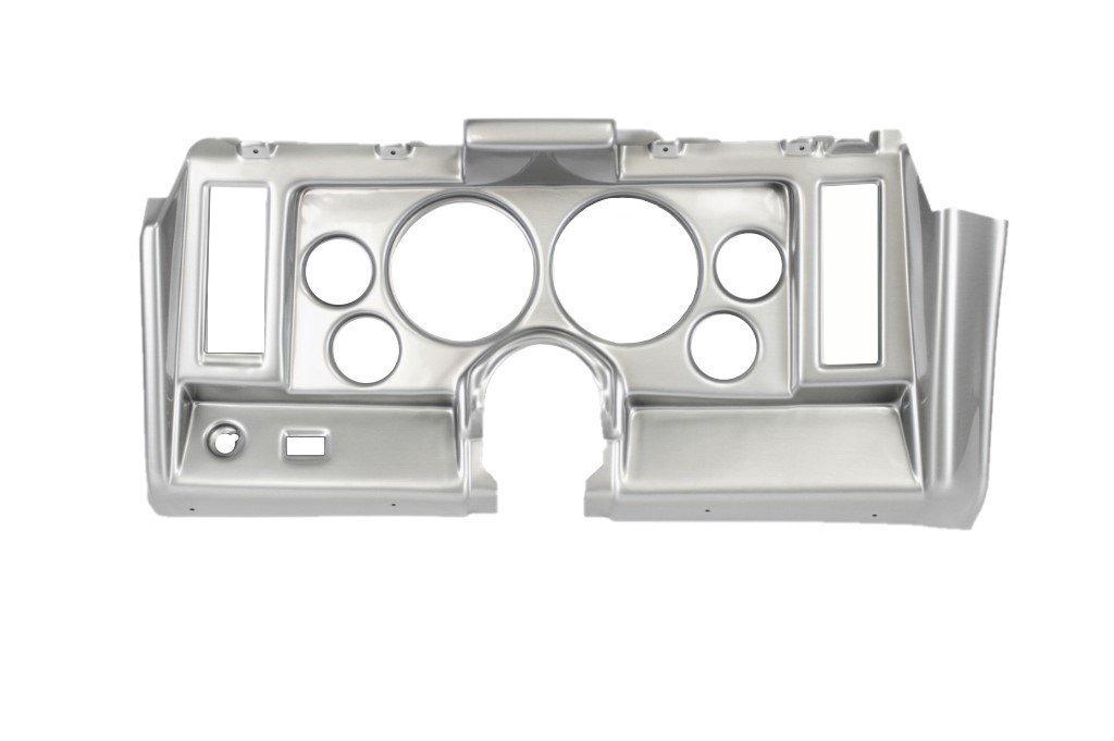 1969 Camaro Custom Dash Instrument Cluster Housing with 6 Holes, Brushed  Aluminum Finish Only
