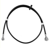 1967 - 1968 Camaro Upper Speedometer Cable with Firewall Grommet, 37.5 Inch