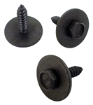1969 Camaro Glove Box Door Bolt Screw Set, 3 Piece